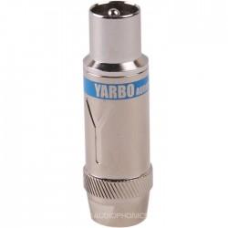 Yarbo CT-203R Fiche d'Antenne Coaxiale Mâle Rhodium Ø8.5mm