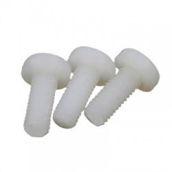 Vis TFS tête bombée Nylon M3x25mm (x10)
