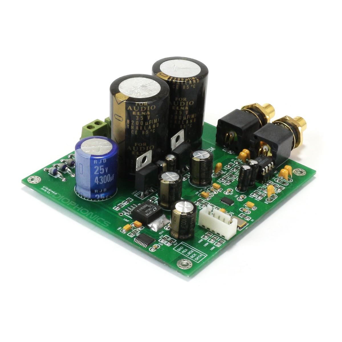 ESS ES9038Q2M Module DAC I2S 32bit 192khz DSD Régulateur LT1963 AOP NJM5532