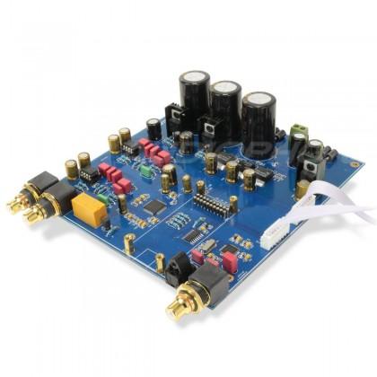 AKM AK4495EQ DAC Module S/PDIF 192K/24B USB384K/32B Regulators 2xLM2941CS