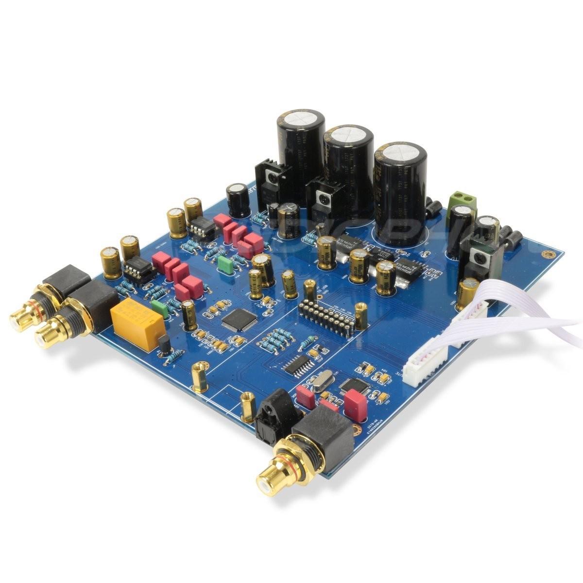 DAC Module AKM AK4497EQ I2S SPDIF 32Bit / 384kHz LT1963 Regulator