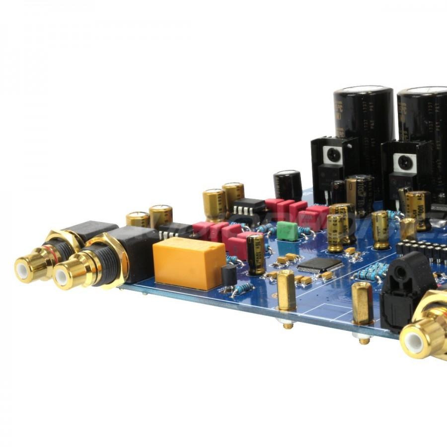 AKM AK4497EQ DAC Module I2S SPDIF 32Bit / 384kHz LT1963 Regulator