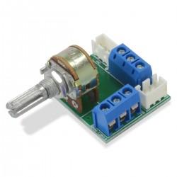 Potentiomètre stéréo WLB 50kOhm sur circuit