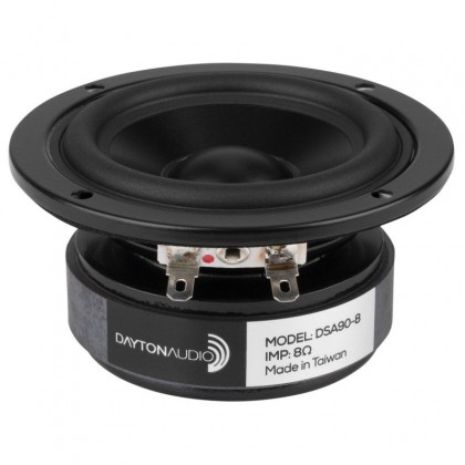 Dayton Audio DSA90-8 Designer Series Haut parleur large bande 7 cm 8 Ohm