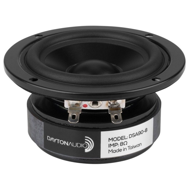 DAYTON AUDIO DSA90-8 Designer Series Speaker Driver Full Range 20W 8 Ohm 85dB 66Hz - 15kHz Ø7cm