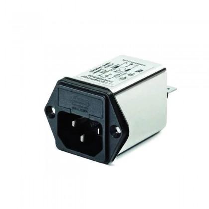 SCHAFFNER FN9260 Filtre Secteur IEC C14 EMI / RFI 250V 6A avec Porte Fusible