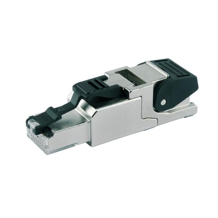 TELEGARTNER MFP8 T568A Connecteur RJ45 Ethernet Haute qualité Métal