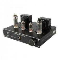 FX-AUDIO TUBE-P1 Amplificateur à Tubes et Préamplificateur Phono MM 6J1 + 6P1 Stéréo