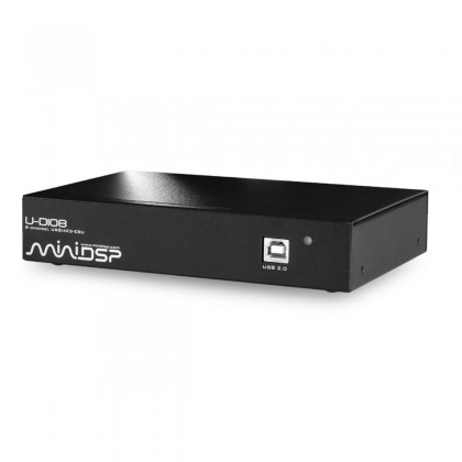 MiniDSP U-DIO8 Interface digitale 8 canaux AES/EBU 192KHz USB 7.1