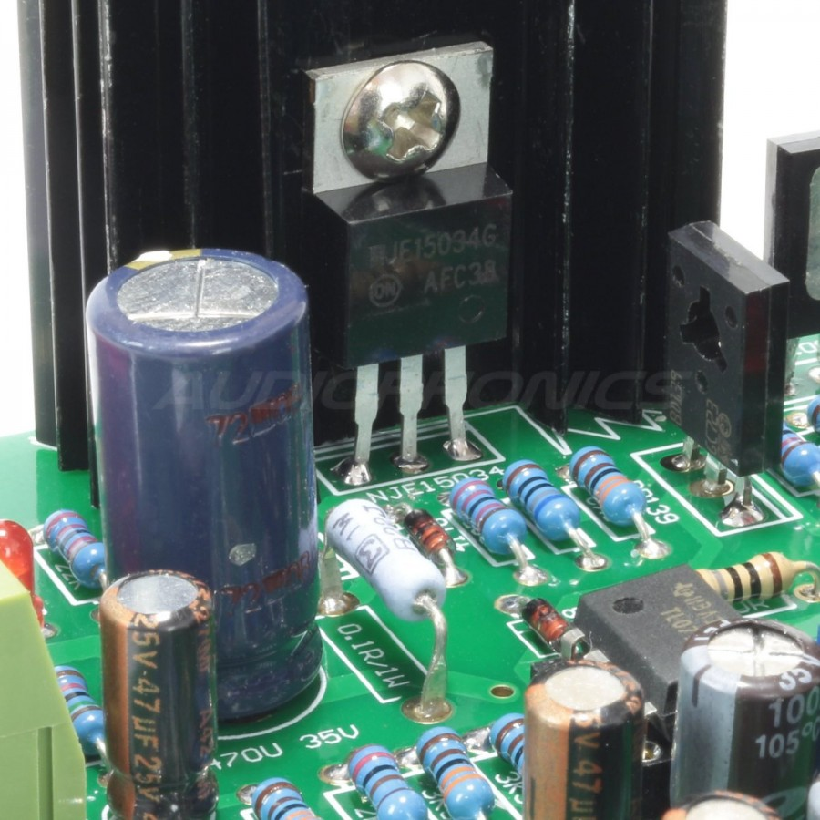 Regulated Linear Supply Module Op Tl072 Mje15034 28v Audiophonics Circuit Diagram Of Preamp Using