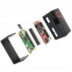 JUSTOOM Pack Pi Zero + Amplificateur TAS5756 + Boîtier + Alimentation + OS Justboom installé