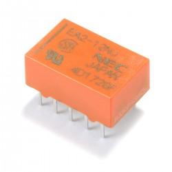 NEC EA2 Dual Contact Relay for PCB 12V