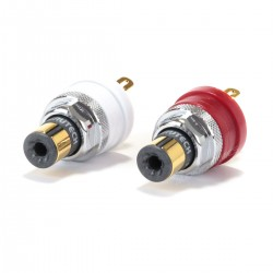 FURUTECH FT-903 (G) RCA inlet Gold plated Pure Copper (Pair)