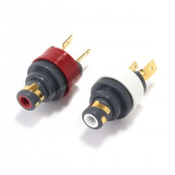 WBT-0210Cu Embases RCA Nextgen cuivre 75 Ohms (La paire)