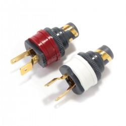 WBT-0210Cu Embases RCA Nextgen cuivre (La paire)