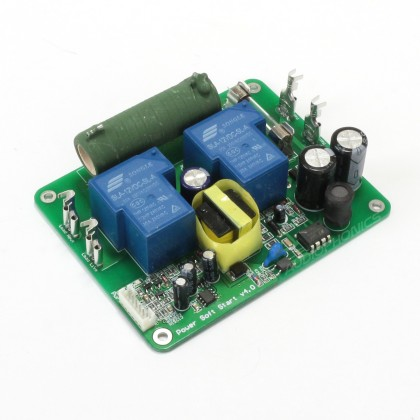 Power on and delay soft start board for Amplifier