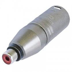 Adaptateur Neutrik XLR Mâle - RCA Femelle