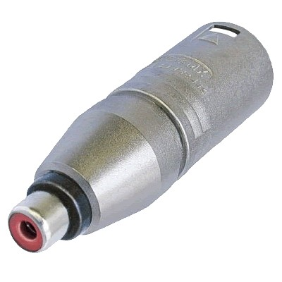 NEUTRIK NA2MPMF Adaptateur XLR Mâle - RCA Femelle