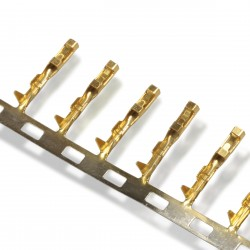 AMP Female Contact Gold plated for case 2.54mm (set x10)