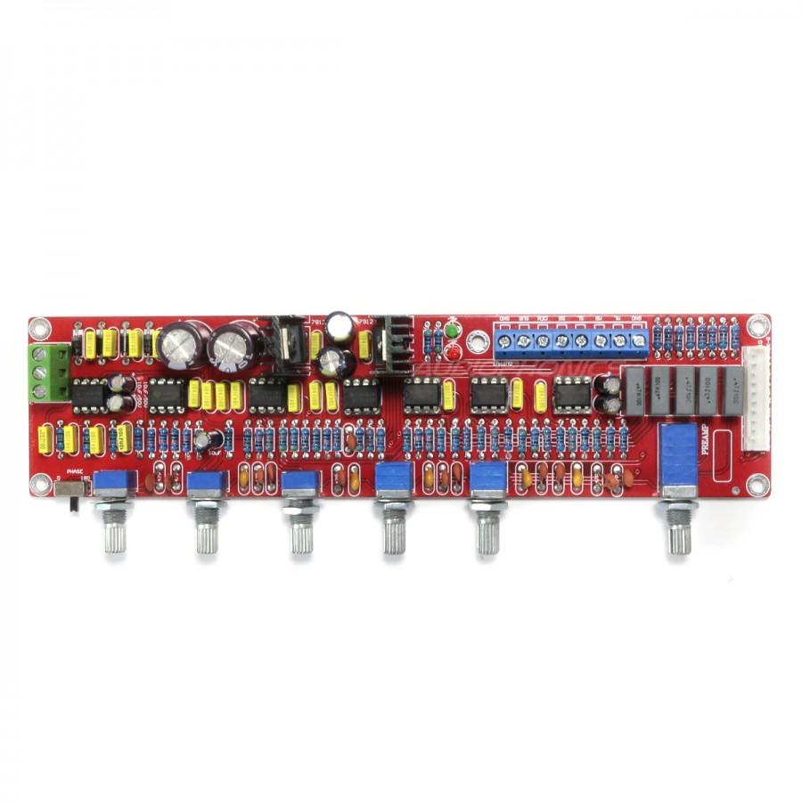 Preamplifier 51 20 Module With Tone Control 7x Aop Ne5532 Dip8 Accurate Bass
