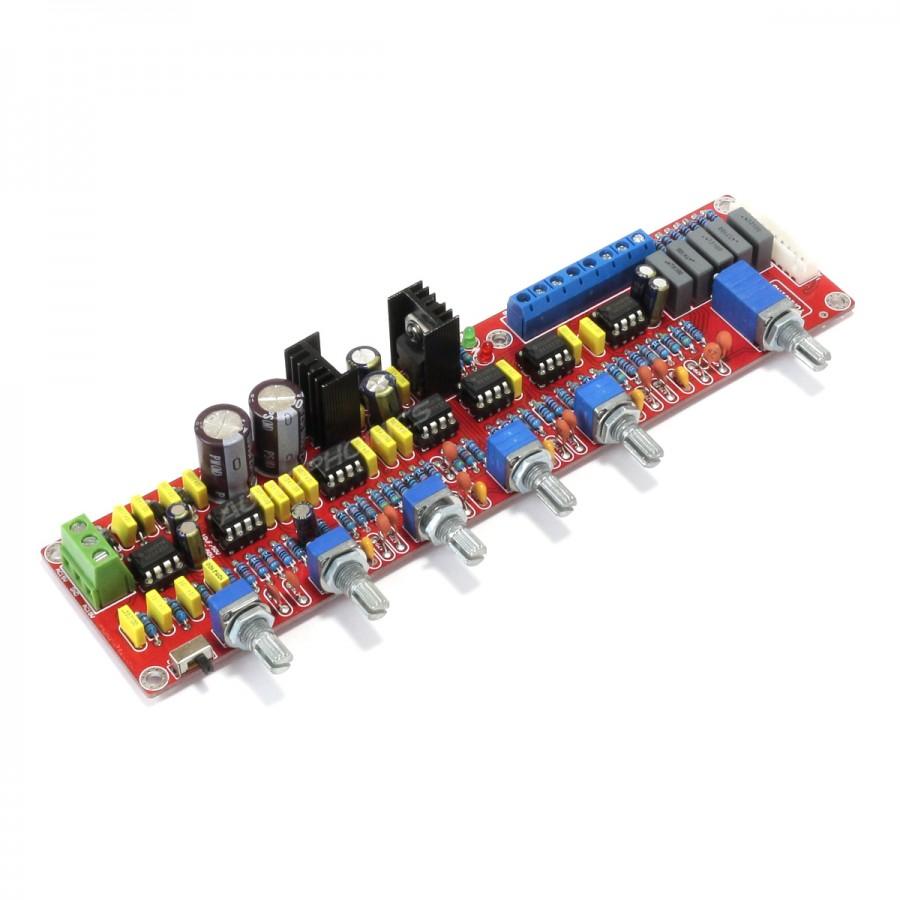 Preamplifier 51 20 Module With Tone Control 7x Aop Ne5532 Dip8 Passive Circuit
