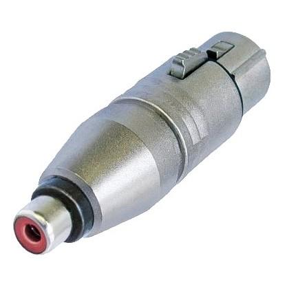 Adaptateur Neutrik XLR Femelle - RCA Femelle