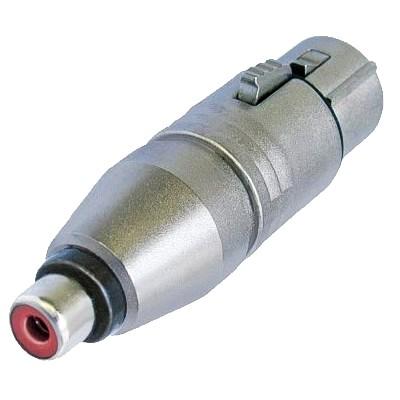NEUTRIK NA2FPMF Adaptateur XLR Femelle - RCA Femelle