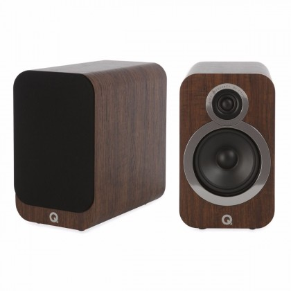 Q Acoustics 3020i Bookshelf speaker Walnut (Pair)