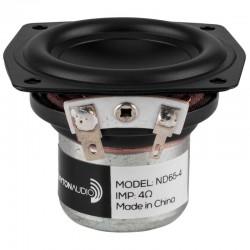 DAYTON AUDIO ND65-4 Haut-Parleur Large Bande Aluminium 15W 4 Ohm 83dB 85Hz - 20kHz Ø6.3cm