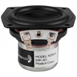 DAYTON AUDIO ND65-4 Speaker Driver Full Range Aluminium 15W 4 Ohm 83dB 85Hz - 20kHz Ø6.3cm