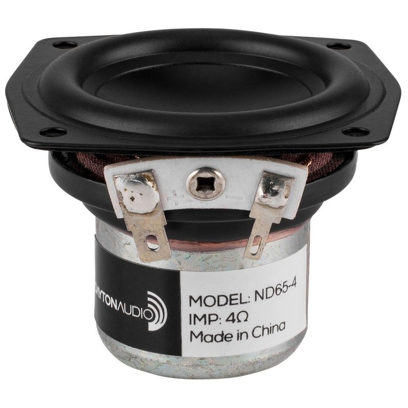 DAYTON AUDIO ND65-4 Speaker Driver Full Range Aluminium 15W 4 Ohm 83dB 85Hz - 20kHz Ø6.3cm
