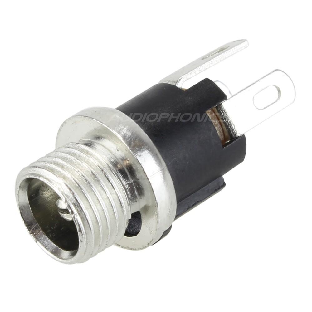 Jack DC female inlet 5.5 / 2.1mm Short