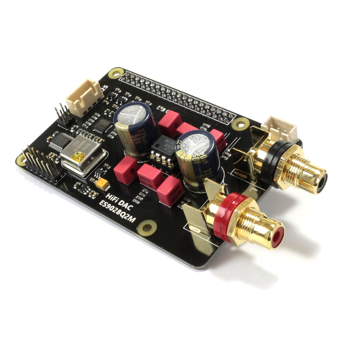 SUPTRONICS X20-DAC Module DAC I2S RCA ES9028Q2M 32bit 384kHz 1x AOP NJR MUSES 8920