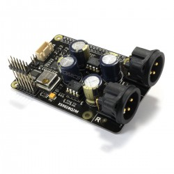 X20-XLR DAC Module I2S XLR ES9028Q2M 24bit 192kHz 2x AOP NJR MUSES 8920