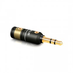 VIABLUE T6s Mini-JACK 3.5mm Stereo Bronze Gold plated 24k Ø 8.6mm (Unit)