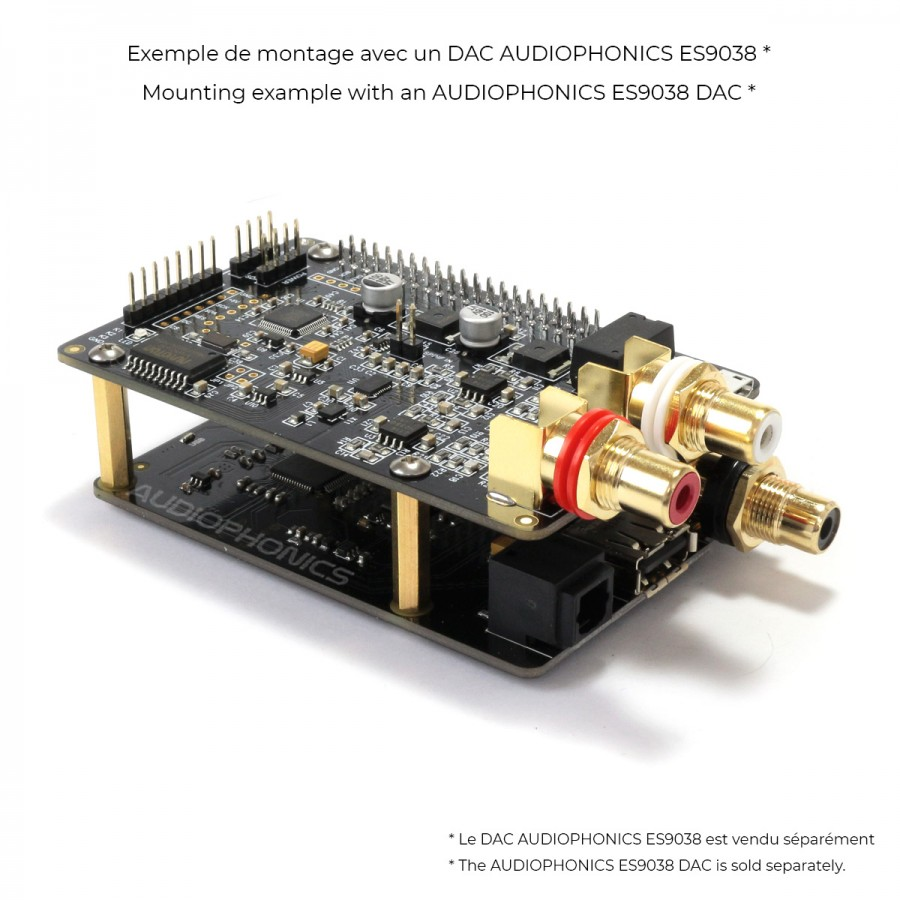 X10-I2S USB XMOS Interface to I2S / Opical / Coaxial SPDIF