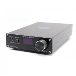 FX-AUDIO D802C PRO Amplificateur FDA Bluetooth 4.2 NFC Class D STA326 2x50W / 8 Ohm Noir