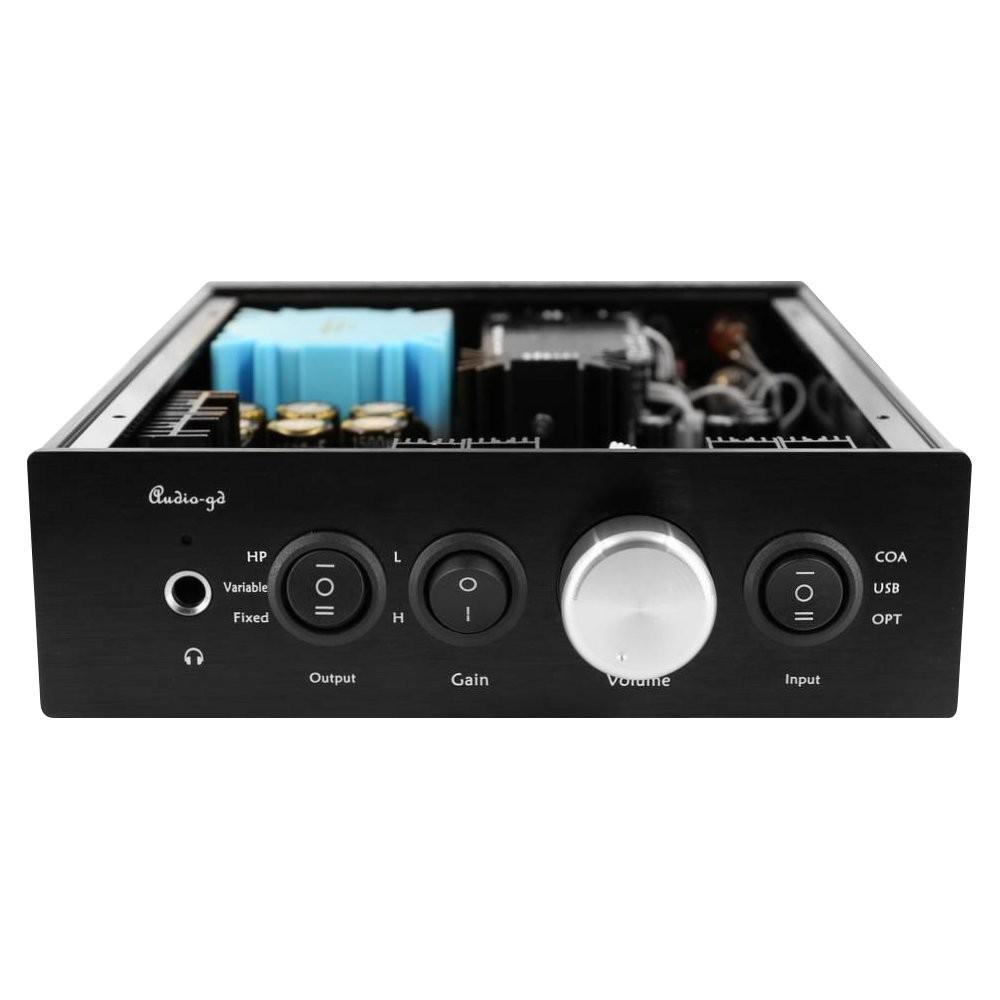 AUDIO-GD NFB-11.38 DAC ES9038PRO / Pre / Headphone amplifier DSD 32bit / 384kHz Femto