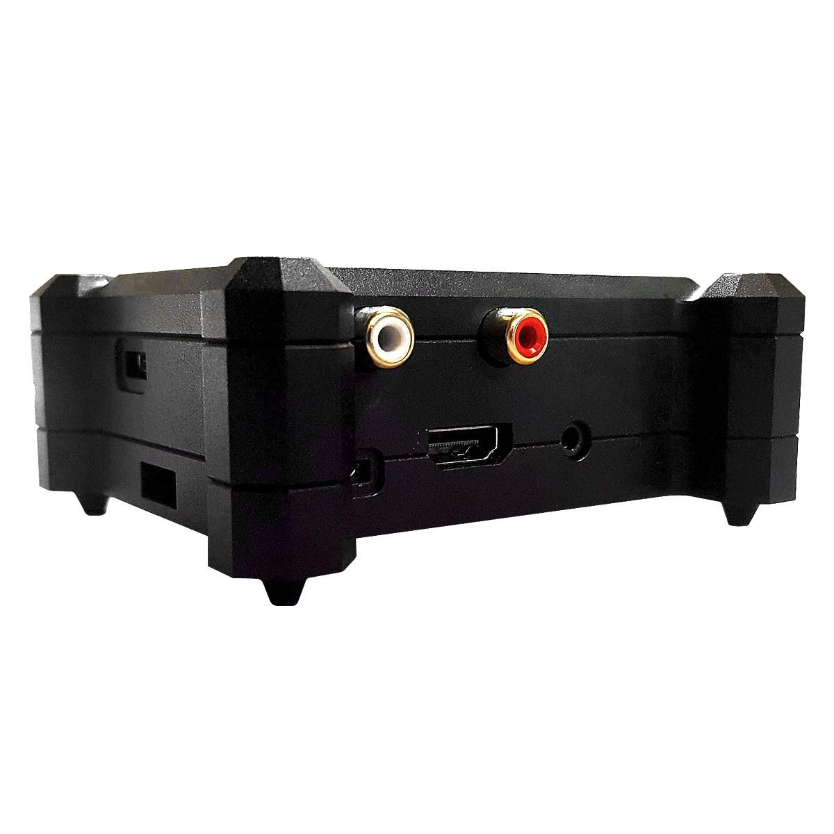 ALLO Boîtier aluminium pour DAC Allo Boss et Raspberry Pi 3 B/B+ Noir