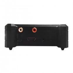 ALLO BOSS CASE Boîtier pour DAC Allo Boss et Raspberry Pi 3 B/B+ Aluminium Noir