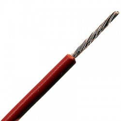 LAPP KABEL H05V-K Cable Mono-Conductor 0.5mm² (Red)