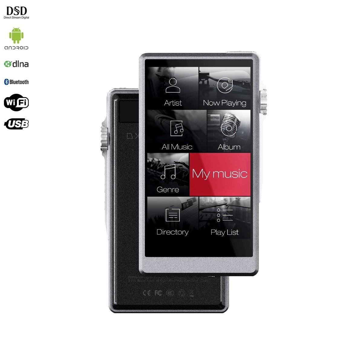 IBASSO DX150 DAP HiFi Music Player DAC 2x AKM AK4490EQ 32bit 384kHz DSD