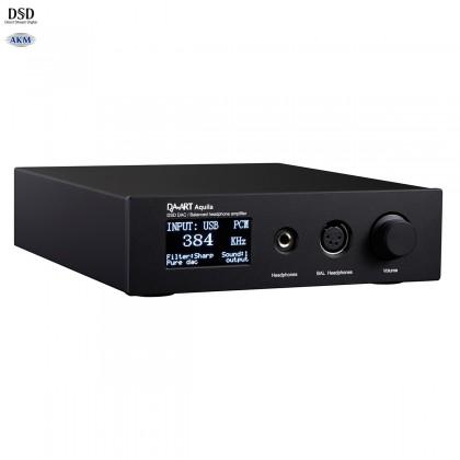 DAART AQUILA DAC Amplificateur Casque Préamplificateur Symétrique AK4497 TPA6120A2 32bit 384kHz DSD