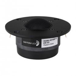 DAYTON AUDIO RST28F-4 Haut-Parleur Tweeter à Dôme Tissu 80W 4 Ohm 94dB 1400Hz - 20kHz Ø2.8cm