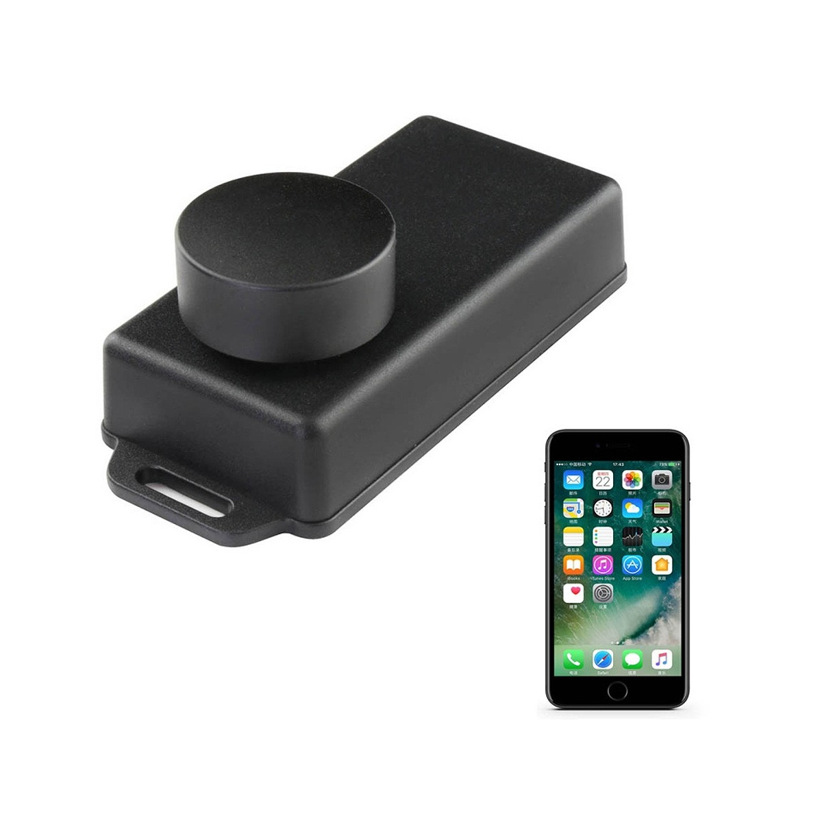 TINYSINE TSA1110 Contrôleur de Volume par Bluetooth Compatible Android / iOS