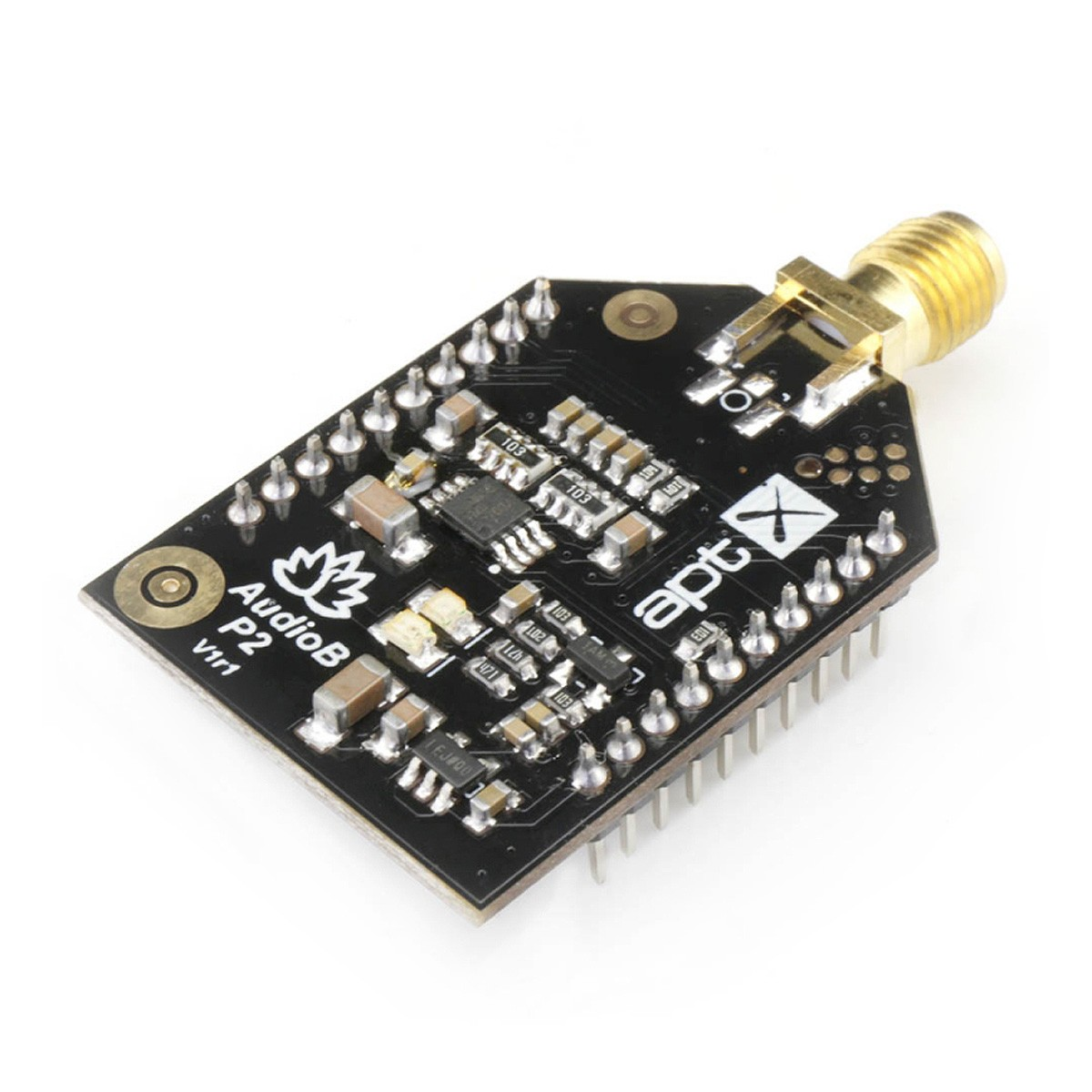 TINYSINE AUDIO-B PLUS Module Récepteur Bluetooth 4.2 aptX SMA