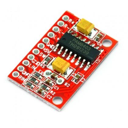 TinySine ULTRA-MINI Module d'amplification class D 2x3W