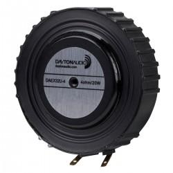 DAYTON AUDIO DAEX32U-4 Haut-Parleur Vibreur Exciter Large Bande 20W 4 Ohm Ø3.2cm