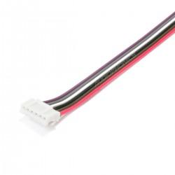 Câble JST PH Connecteur Femelle 6 Pôles vers Fils Nus (Unité)