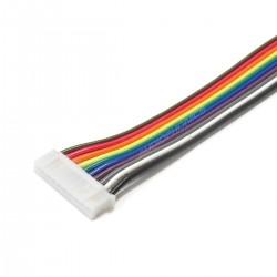 Câble JST PH Connecteur Femelle 10 Pôles vers Fils Nus (Unité)